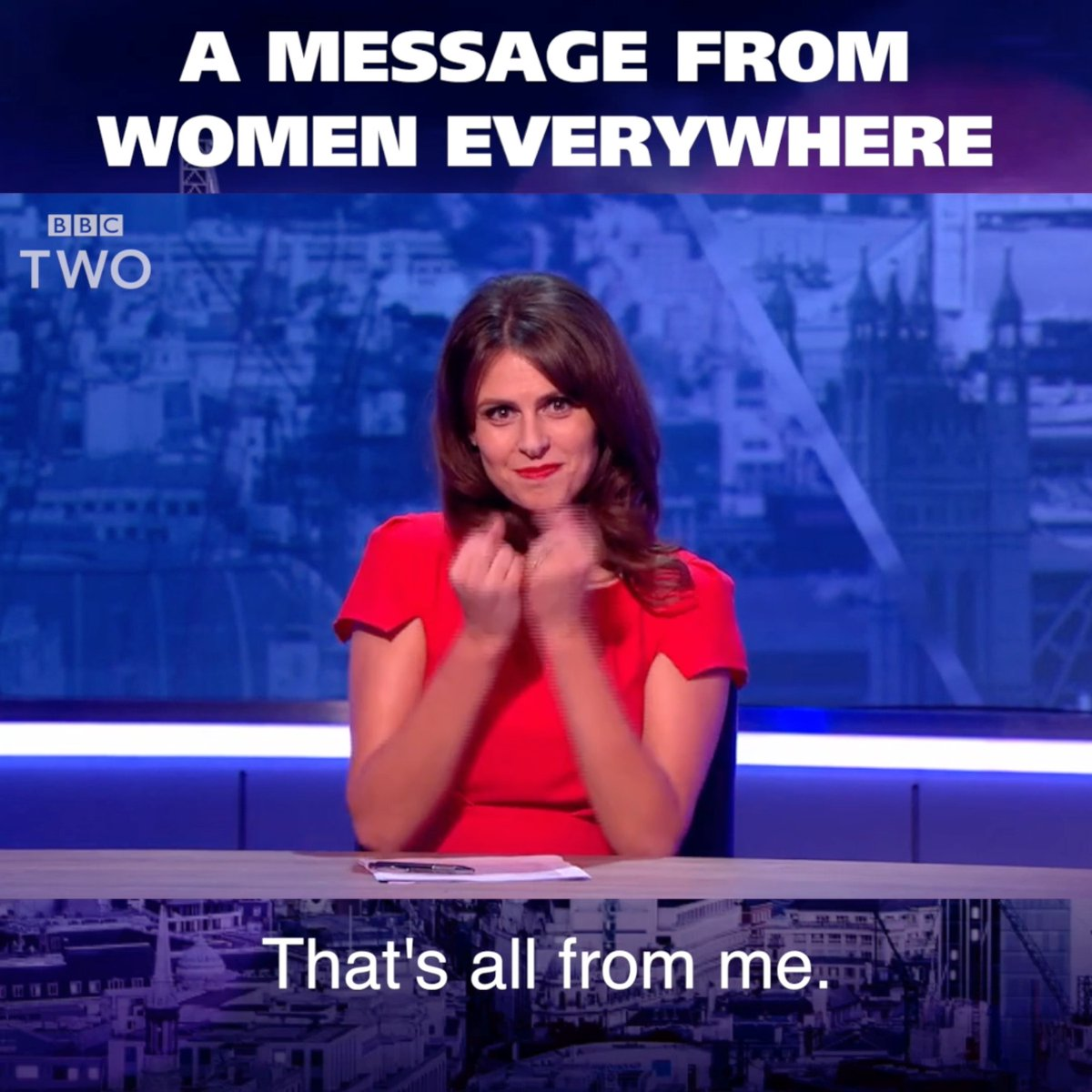 RT A simple message to the world from every woman ever...   #TheMashReport @EllieJaneTaylor  - embedded image