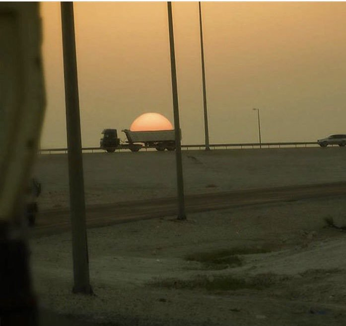 RT Leaked NASA photo of the Sun being taking away for maintenance.  - embedded image