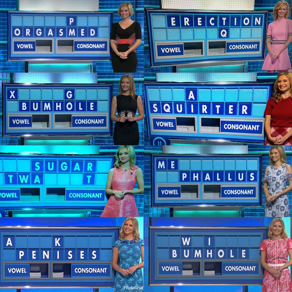 RT Celebratory 10 years of rude @C4Countdown words as promised!  Do with them, what you will!   - embedded image 4