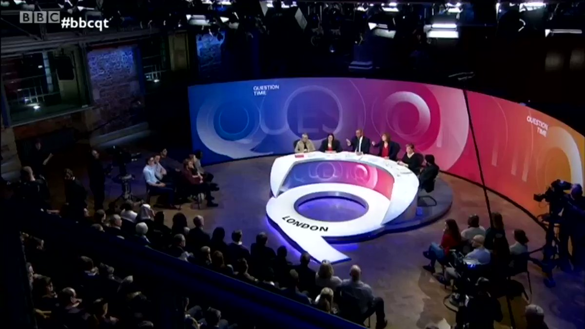 RT This woman just shredded Theresa May and Brexit beautifully.  This is what Question Time should be.    - embedded image
