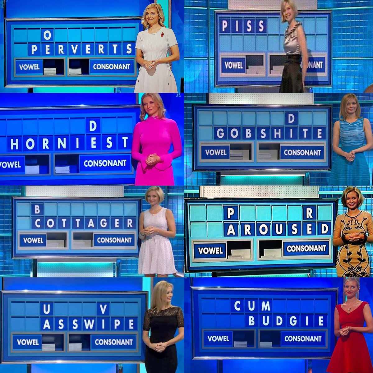 RT Celebratory 10 years of rude @C4Countdown words as promised!  Do with them, what you will!   - embedded image 2