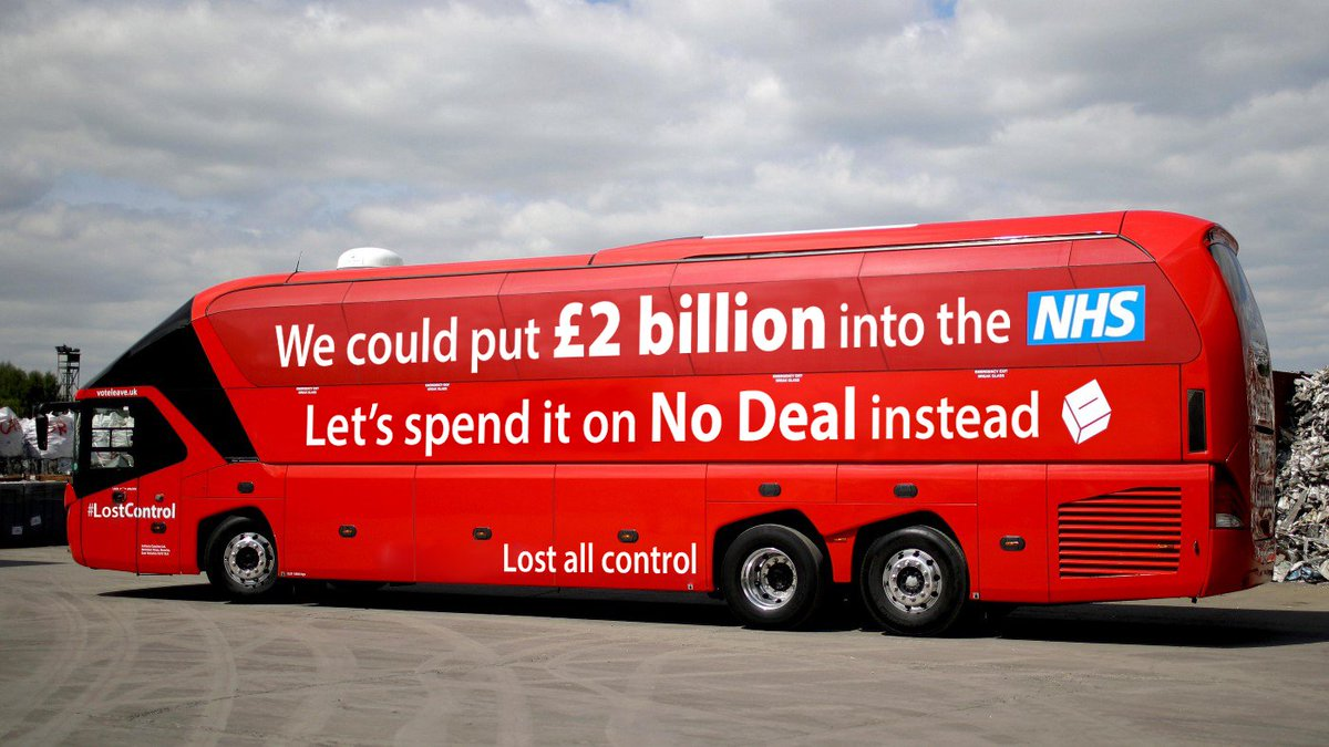 RT Government reveals new Brexit bus.  - embedded image