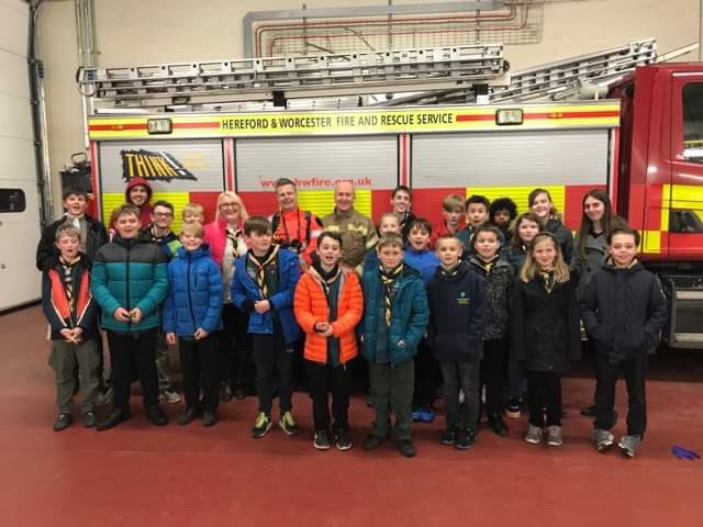 RT Many thanks @HWFireBGrove for hosting 3rd #Bromsgrove Scout Troop this evening.  #skillsforlife  - embedded image